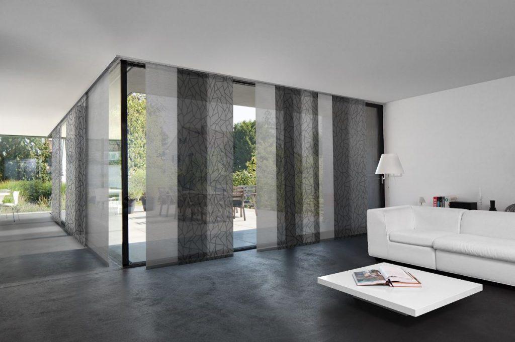 panneau japonais separation de piece stunning panneaux. Black Bedroom Furniture Sets. Home Design Ideas