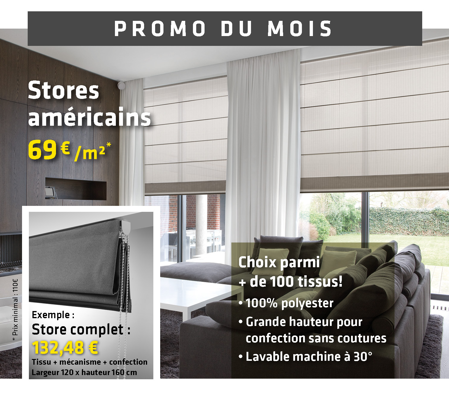 promo du mois de septembre ruban jaune. Black Bedroom Furniture Sets. Home Design Ideas