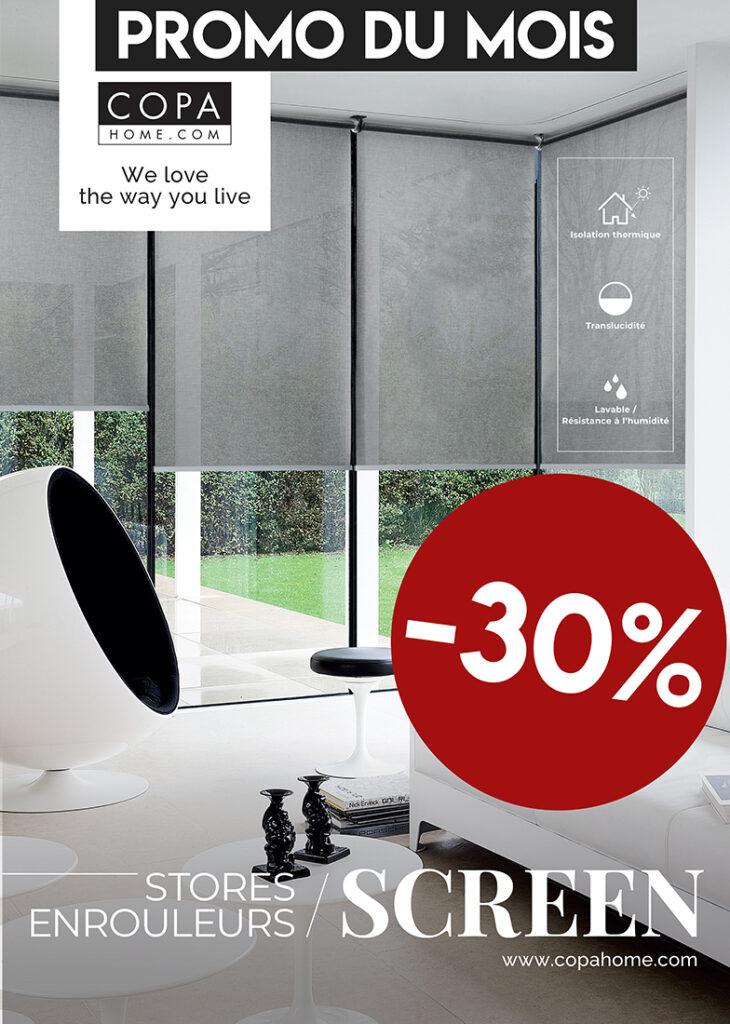Stores enrouleurs screen PVC COPAHOME
